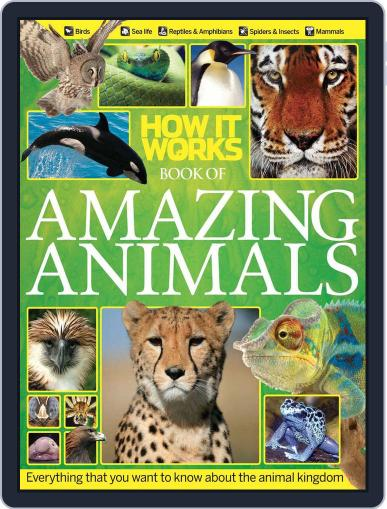 How It Works Book of Amazing Animals Magazine (Digital) October 1st, 2012 Issue Cover