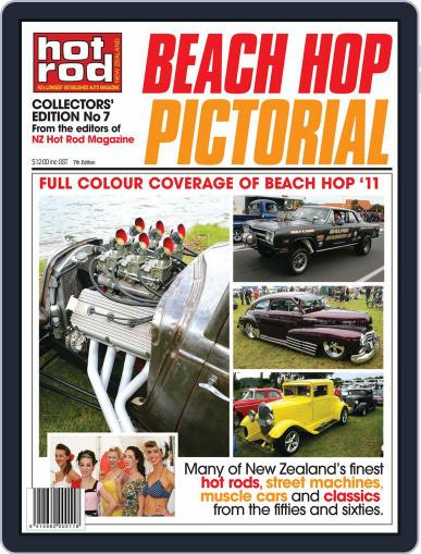 Hot Rod Beach Hop Pictorial May 10th, 2011 Digital Back Issue Cover