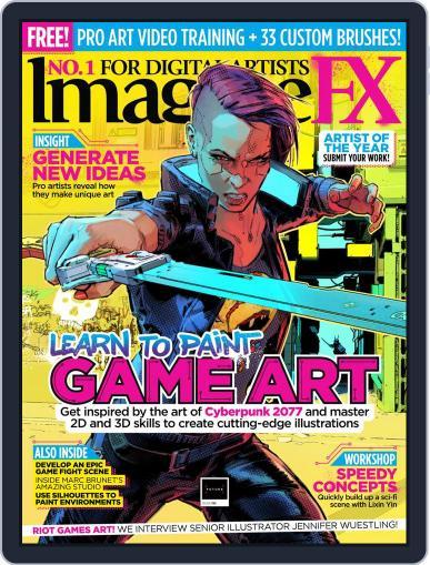 ImagineFX January 1st, 2021 Digital Back Issue Cover