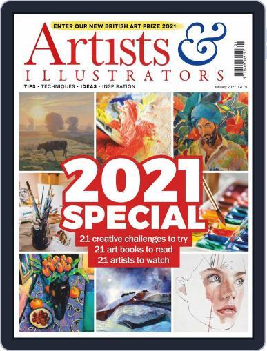 Artists & Illustrators (Digital) January 1st, 2021 Issue Cover