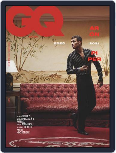Gq España (Digital) December 1st, 2020 Issue Cover