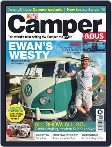 VW Camper & Bus January 1st, 2021 Digital Back Issue Cover
