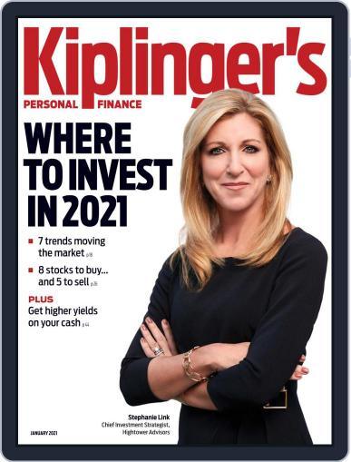 Kiplinger's Personal Finance (Digital) January 1st, 2021 Issue Cover
