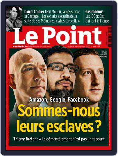 Le Point November 26th, 2020 Digital Back Issue Cover