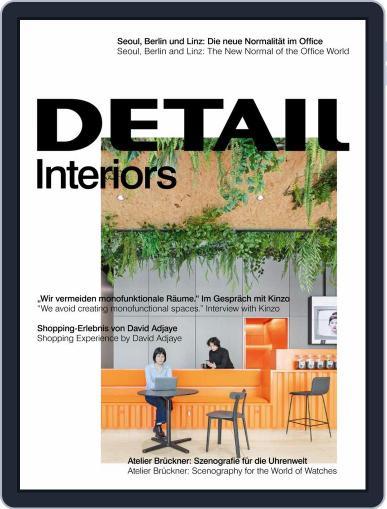 Detail December 1st, 2020 Digital Back Issue Cover