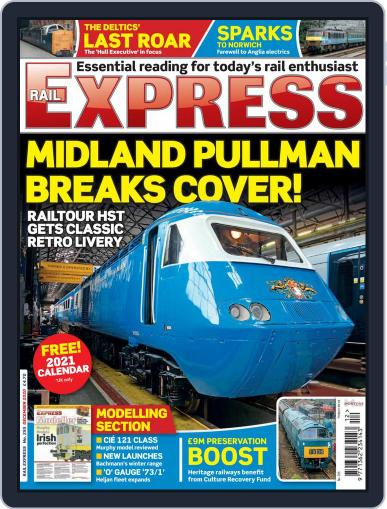 Rail Express (Digital) December 1st, 2020 Issue Cover