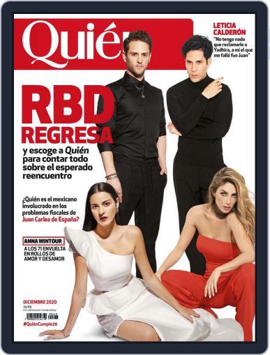 Quién (Digital) December 1st, 2020 Issue Cover