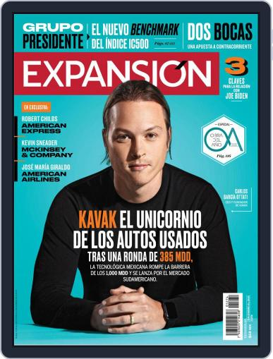 Expansión (Digital) December 1st, 2020 Issue Cover
