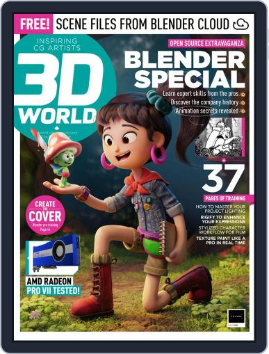 3D World January 1st, 2021 Digital Back Issue Cover