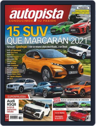 Autopista (Digital) November 24th, 2020 Issue Cover