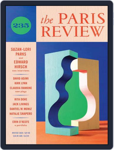 The Paris Review October 30th, 2020 Digital Back Issue Cover
