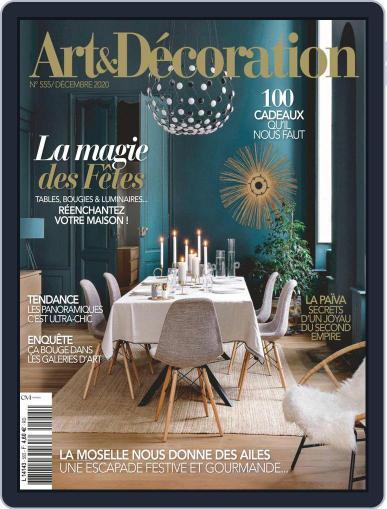 Art & Décoration December 1st, 2020 Digital Back Issue Cover