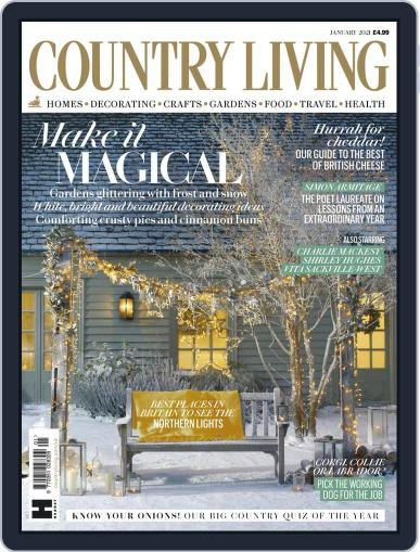 Country Living UK January 1st, 2021 Digital Back Issue Cover