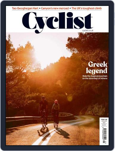 Cyclist (Digital) January 1st, 2021 Issue Cover