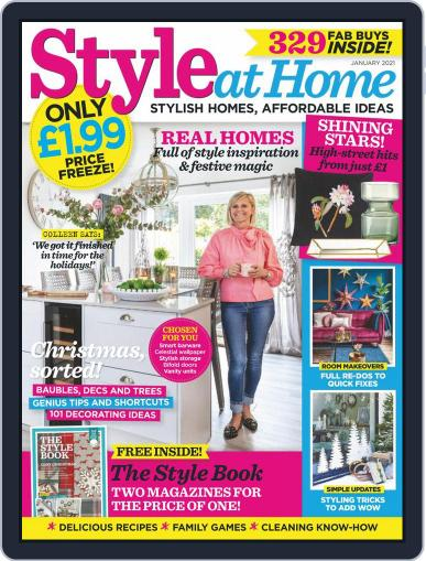 Style At Home United Kingdom (Digital) January 1st, 2021 Issue Cover