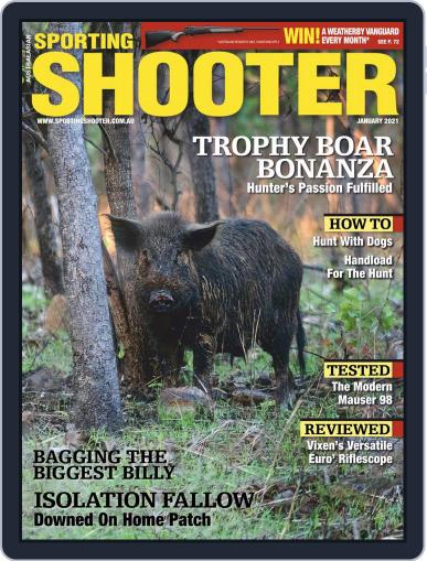 Sporting Shooter January 1st, 2021 Digital Back Issue Cover