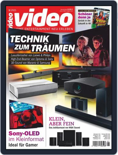 video (Digital) January 1st, 2021 Issue Cover