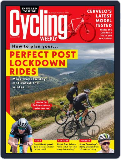 Cycling Weekly December 3rd, 2020 Digital Back Issue Cover
