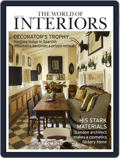 The World of Interiors January 1st, 2021 Digital Back Issue Cover