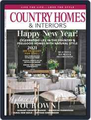 Country Homes & Interiors (Digital) Subscription January 1st, 2021 Issue