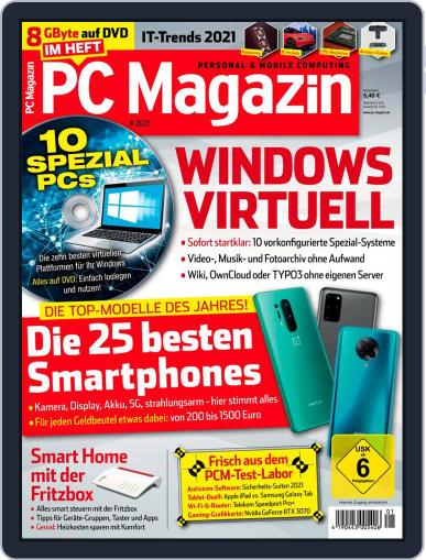 PC Magazin (Digital) January 1st, 2021 Issue Cover