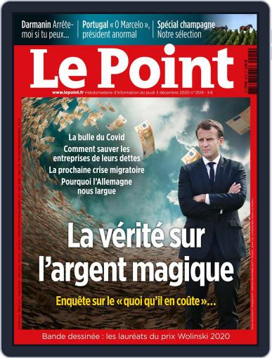 Le Point December 3rd, 2020 Digital Back Issue Cover