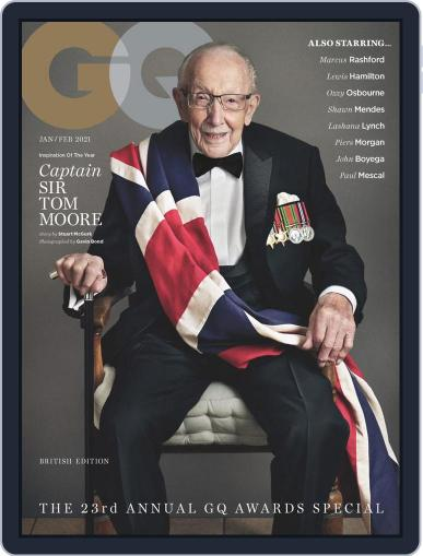 British GQ (Digital) January 1st, 2021 Issue Cover