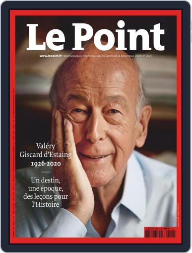 Le Point December 4th, 2020 Digital Back Issue Cover