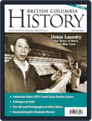 British Columbia History (Digital) Subscription December 1st, 2020 Issue