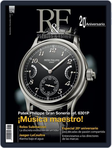 R&e-relojes&estilográficas (Digital) November 1st, 2020 Issue Cover