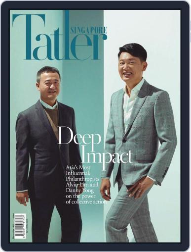 Tatler Singapore December 1st, 2020 Digital Back Issue Cover