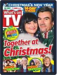 What's on TV (Digital) Subscription December 19th, 2020 Issue