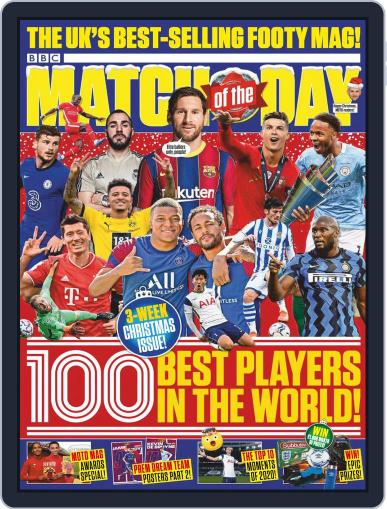 Match Of The Day (Digital) December 8th, 2020 Issue Cover