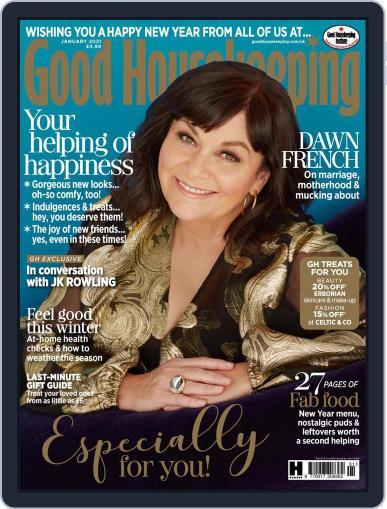 Good Housekeeping UK January 1st, 2021 Digital Back Issue Cover