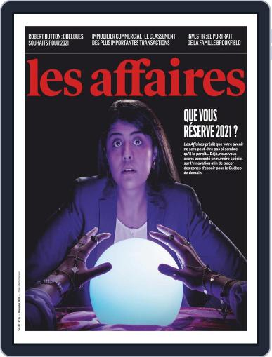Les Affaires (Digital) December 1st, 2020 Issue Cover