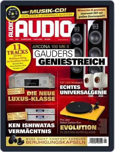 Audio Germany (Digital) January 1st, 2021 Issue Cover