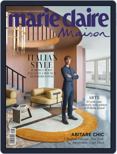 Marie Claire Maison Italia December 1st, 2020 Digital Back Issue Cover