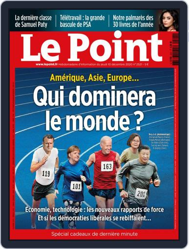 Le Point December 10th, 2020 Digital Back Issue Cover