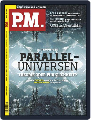 P.M. Magazin January 1st, 2021 Digital Back Issue Cover