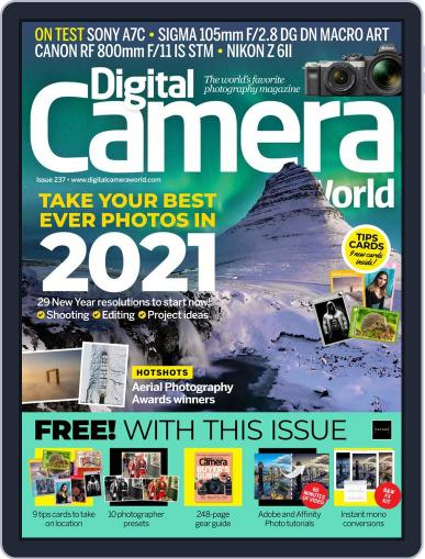 Digital Camera World January 1st, 2021 Issue Cover
