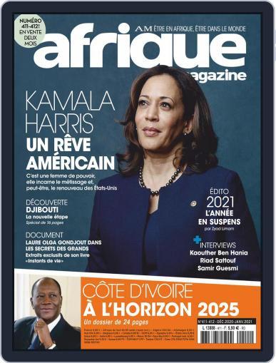 Afrique December 1st, 2020 Digital Back Issue Cover