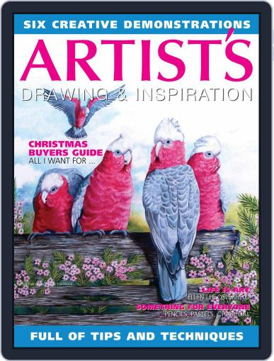 Artists Drawing and Inspiration December 1st, 2020 Digital Back Issue Cover