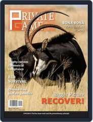 PRIVATE GAME | WILDLIFE RANCHING (Digital) Subscription November 1st, 2020 Issue