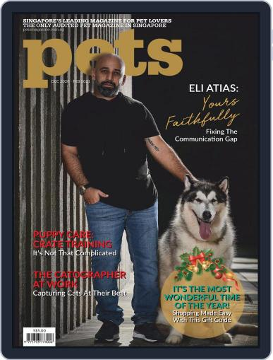 Pets Singapore December 1st, 2020 Digital Back Issue Cover