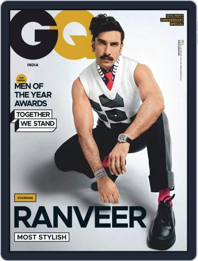 GQ India (Digital) December 1st, 2020 Issue Cover