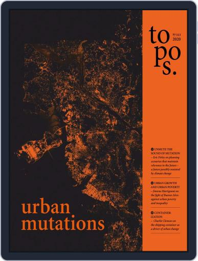 Topos (Digital) December 1st, 2020 Issue Cover