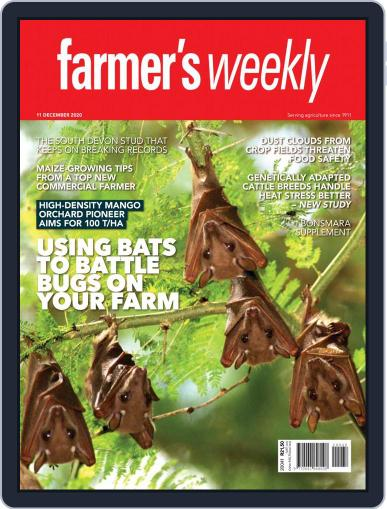 Farmer's Weekly December 11th, 2020 Digital Back Issue Cover