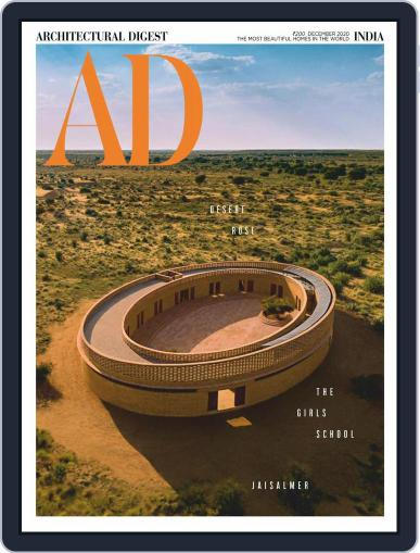 Architectural Digest India (Digital) December 1st, 2020 Issue Cover