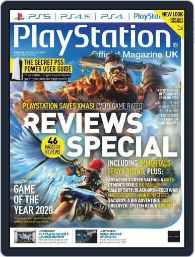Official PlayStation Magazine - UK Edition (Digital) January 1st, 2021 Issue Cover