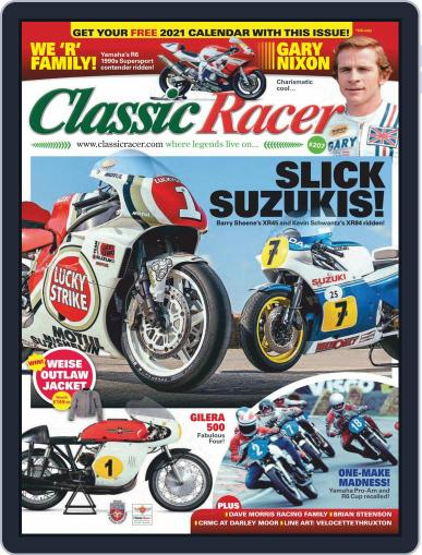 Classic Racer (Digital) January 1st, 2021 Issue Cover